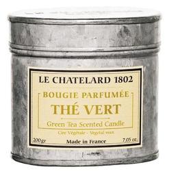 Lumanare Parfumata 200g Ceai Verde The Vert Le Chatelard 1802 Cutie Galva 2 Fitile