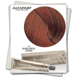 Vopsea Permanenta - Alfaparf Milano Evolution of the Color nuanta 7.4 Biondo Medio Copper