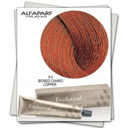 Vopsea Permanenta - Alfaparf Milano Evolution of the Color nuanta 8.4 Biondo Chiaro Copper