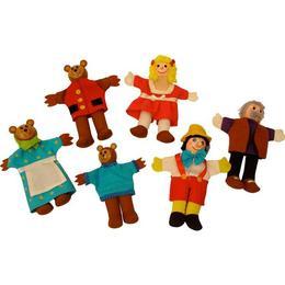 Imagine 2 In 1 - Pinochio Si Povestea Cei Trei Ursuleti - Papusi Degetar