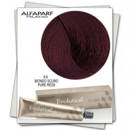 Vopsea Permanenta - Alfaparf Milano Evolution of the Color nuanta 6.6 Biondo Scuro Pure Reds