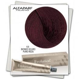 Vopsea Permanenta - Alfaparf Milano Evolution of the Color nuanta 6.6 Biondo Scuro Pure Reds