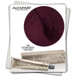 Vopsea Permanenta - Alfaparf Milano Evolution of the Color nuanta 4.66I Castano Medio Pure Reds