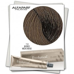 Vopsea Permanenta - Alfaparf Milano Evolution of the Color nuanta 7.31 Biondo Medio Beige