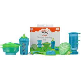 Pachet hranire copii - Toddler feeding 9+ Culoare - Bleu