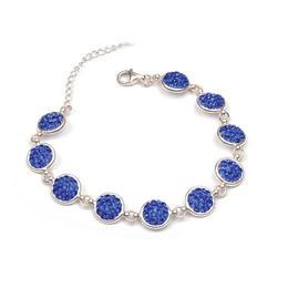 Bratara 200 Crystals Majestic Blue