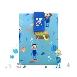 Ambalaj reutilizabil pentru sandwich Boc'n'Roll Kids Ocean