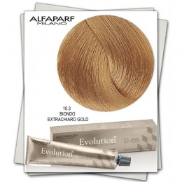 Vopsea Permanenta - Alfaparf Milano Evolution of the Color nuanta 10.3 Biondo Extrachiaro Gold