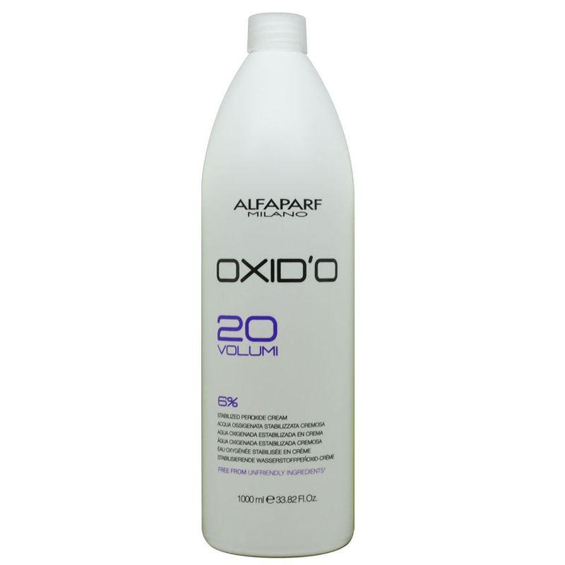 Oxidant Crema 6% - Alfaparf Milano Oxid'O 20 Volumi 6% 1000 ml imagine produs