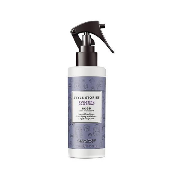Spray Fixativ Modelator cu Fixare Extra Puternica - Alfaparf Milano Style Stories Sculpting Hairspray, 250ml esteto.ro