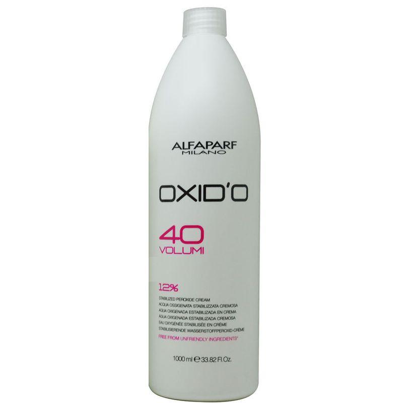 Oxidant Crema 12% - Alfaparf Milano Oxid'O 40 Volumi 12% 1000 ml imagine produs