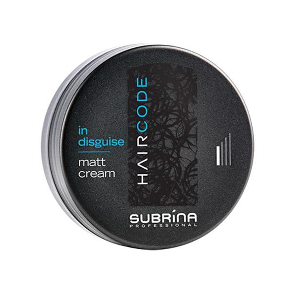 Crema Matifianta pentru Styling - Subrina HairCode In Disguise Matt Cream, 100ml imagine produs