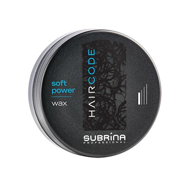 Ceara Modelatoare - Subrina HairCode Soft Power Wax, 100ml imagine produs