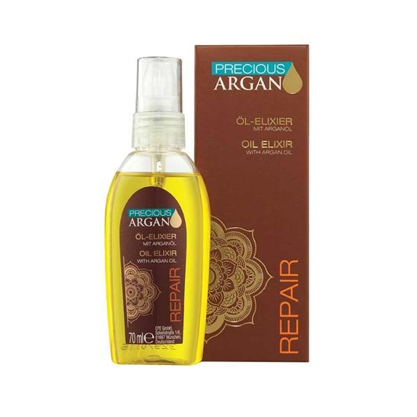 Elixir Tratament Reparator cu Ulei de Argan - Precious Argan Repair Oil Elixir with Argan Oil, 70ml imagine produs