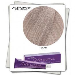 Vopsea Fara Amoniac - Alfaparf Milano Color Wear nuanta 10.21 Biondo Extrachiaro Irise Cenere