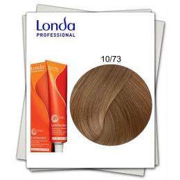 Vopsea Fara Amoniac - Londa Professional nuanta 10/73 blond solar maro auriu