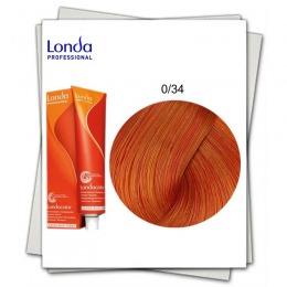Vopsea fara Amoniac Mixton - Londa Professional nuanta 0/34 mix auriu aramiu
