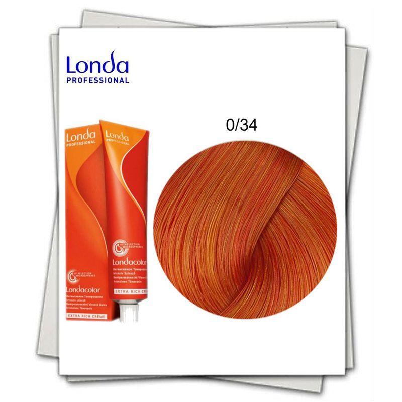 Vopsea fara Amoniac Mixton - Londa Professional nuanta 0/34 mix auriu aramiu imagine