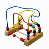 Labirint circuit bile din lemn - Ambi Toys