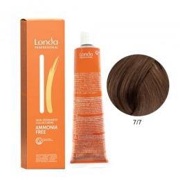 Vopsea Fara Amoniac - Londa Professional nuanta 7/7 blond mediu maroniu