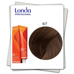 Vopsea Fara Amoniac - Londa Professional nuanta 6/7 blond inchis maroniu