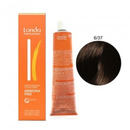 Vopsea Fara Amoniac - Londa Professional nuanta 6/37 blond inchis auriu maro