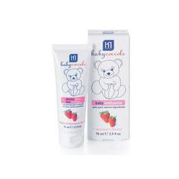 Pasta de dinti pentru copii cu aroma naturala de capsuni 75 ml