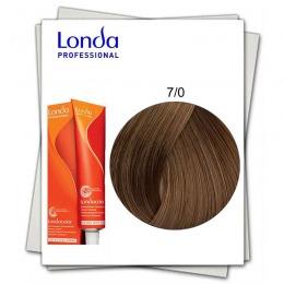 Vopsea Fara Amoniac - Londa Professional nuanta 7/0 blond mediu