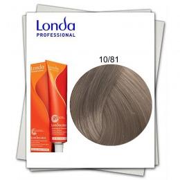 Vopsea Fara Amoniac - Londa Professional nuanta 10/81 blond solar perlat cenusiu