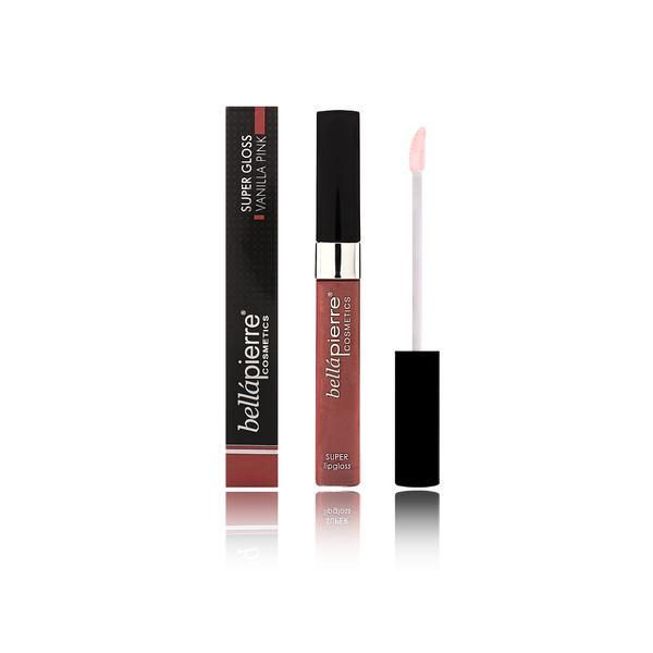 Luciu Super Lip Gloss - Vanilla Pink (roz nud) BellaPierre poza