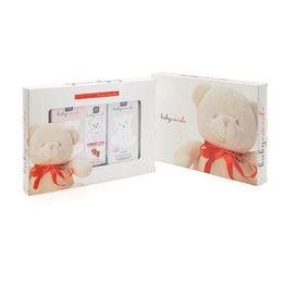Set cadou Ulei Detergent art 4175 + Gel/Sampon Delicat art 4141 + Pasta de dinti 75 ml aroma capsuni art 4200