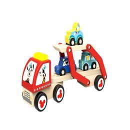 Set camion transportor de masini,cu personajele Disney,Disney