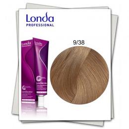 Vopsea Permanenta - Londa Professional nuanta 9/38 blond luminos auriu perlat