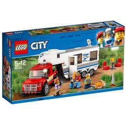 LEGO City - Camioneta si rulota (60182)