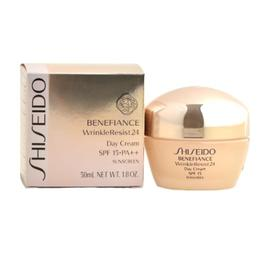 Crema Antirid de Zi - Shiseido Benefiance WrinkleResist24 Day Cream SPF 15, 50ml