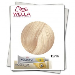 Vopsea Permanenta - Wella Professionals Koleston Perfect nuanta 12/16 special blond cenusiu violet