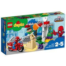 LEGO Duplo - Aventurile lui Spider-Man & Hulk (10876)