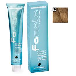Vopsea Crema Permanenta Fanola 9.0 Blond Foarte Deschis, 100ml