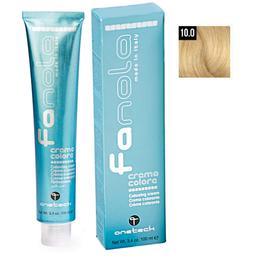Vopsea Crema Permanenta Fanola 10.0 Blond Platinat, 100ml