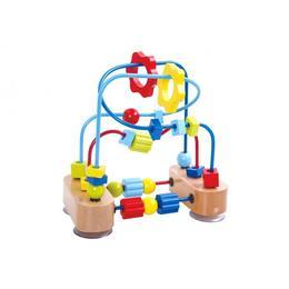 Labirint cu margele, dexteritate, Tooky Toy