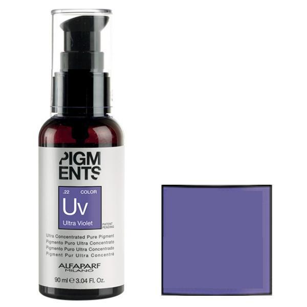 Pigment Concentrat Ultra Violet - Alfaparf Milano Ultra Concentrated Pure Pigment ULTRA VIOLET 90 ml imagine produs