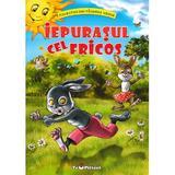 Iepurasul cel fricos (Povestiri din padurea verde) - Claudia Cojocaru, editura Teopiticot