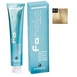 Vopsea Crema Permanenta Fanola 11.1 Blond Superdeschis Platinat Cenusiu, 100ml