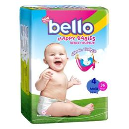 Scutece Copii Bello - Maxi, 9 - 18 kg, 36 buc