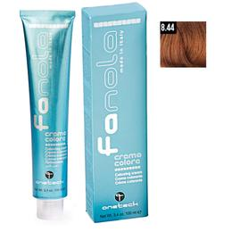 Vopsea Crema Permanenta Fanola 8.44 Blond Deschis Aramiu Intens, 100ml