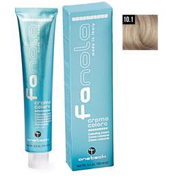 Vopsea Crema Permanenta Fanola 10.1 Blond Platinat Cenusiu, 100ml