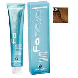 Vopsea Crema Permanenta Fanola 8.00 Blond Deschis Intens, 100ml