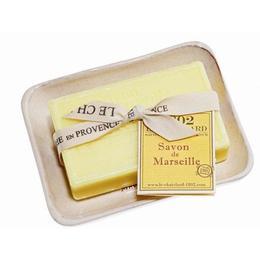 Set Cadou Savoniera Sapun Natural Marsilia 100g Verveine Citron Le Chatelard 1802
