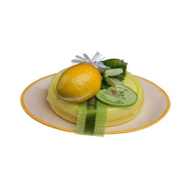 Set Cadou Savoniera Sapun Natural Marsilia 100g Oval Verbina Lamaie Verveine Citron Le Chatelard 1802
