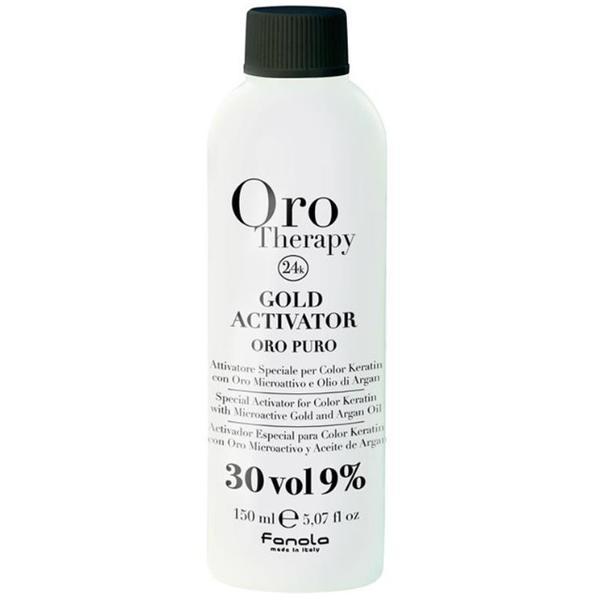 Oxidant Oro Therapy Fanola, 30 vol 9%, 150ml imagine produs